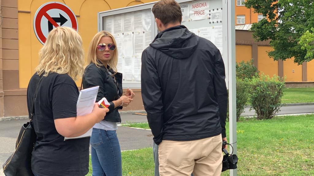 Kateřina Kristelová navštívila Tomáše Řepku ve věznici na Borech