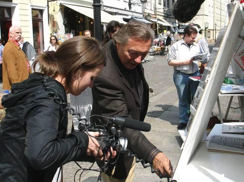 Karel Gott s Olgou Špátovou natáčeli dokument Fenomén Gott v roce 2009