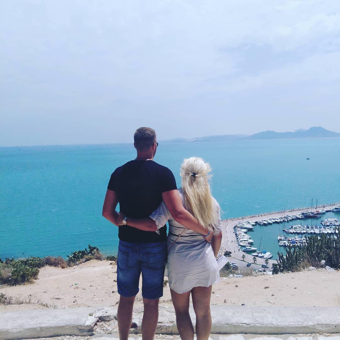 Na společné dovolené v Tunisu