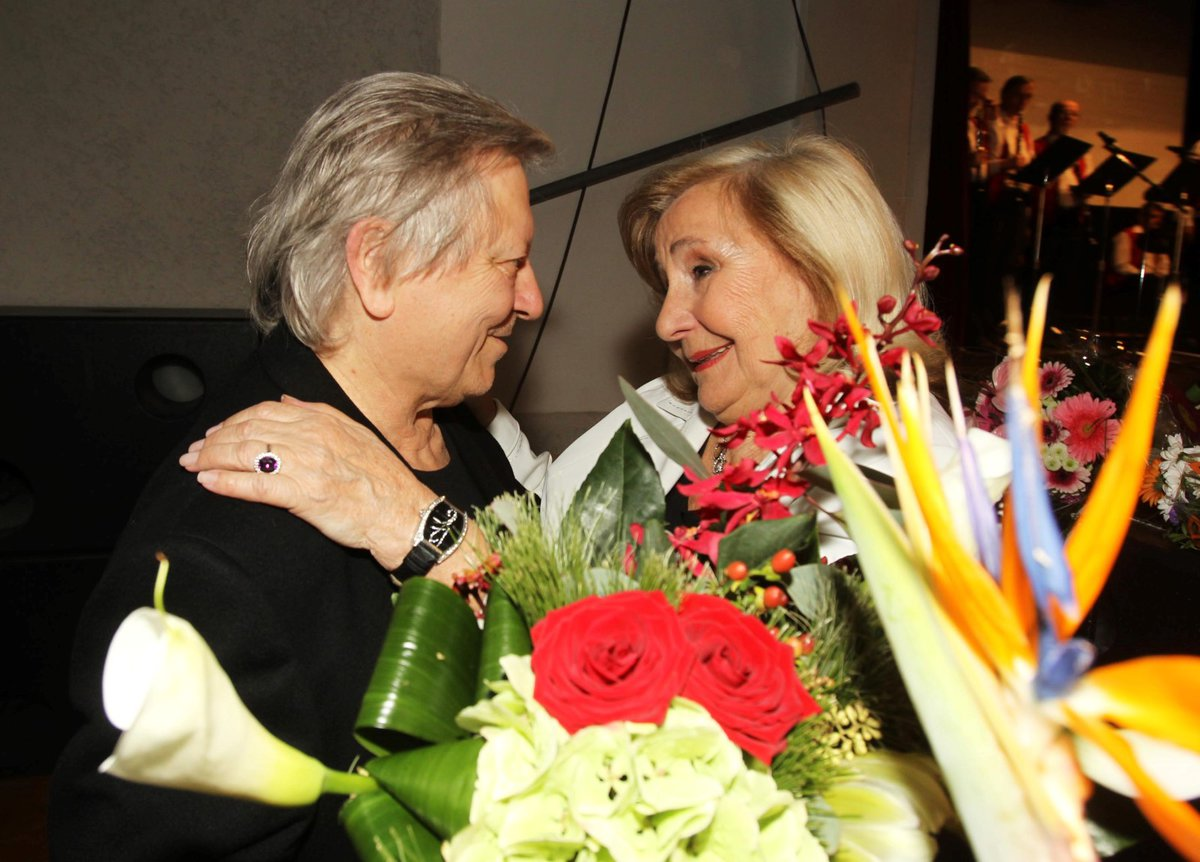 Václav Neckář a Zorka Kohoutová