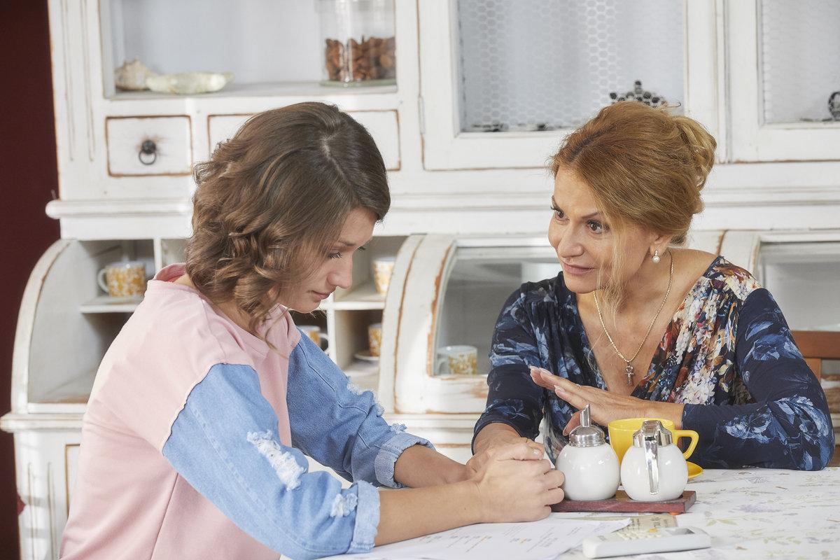 Magda s maminkou Zdeňkou
