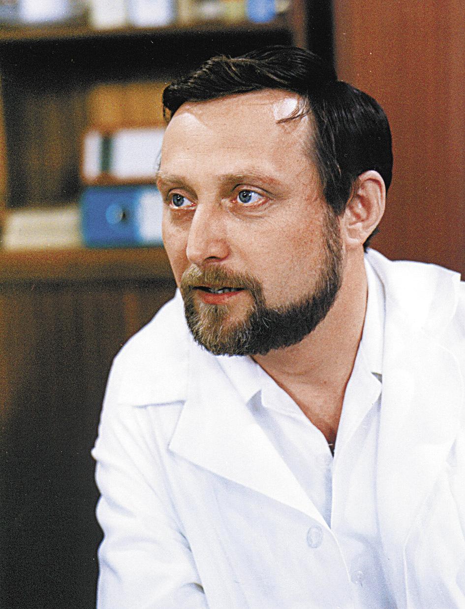 Ladislav Frej alias doktor Sova v Nemocnici na kraji města