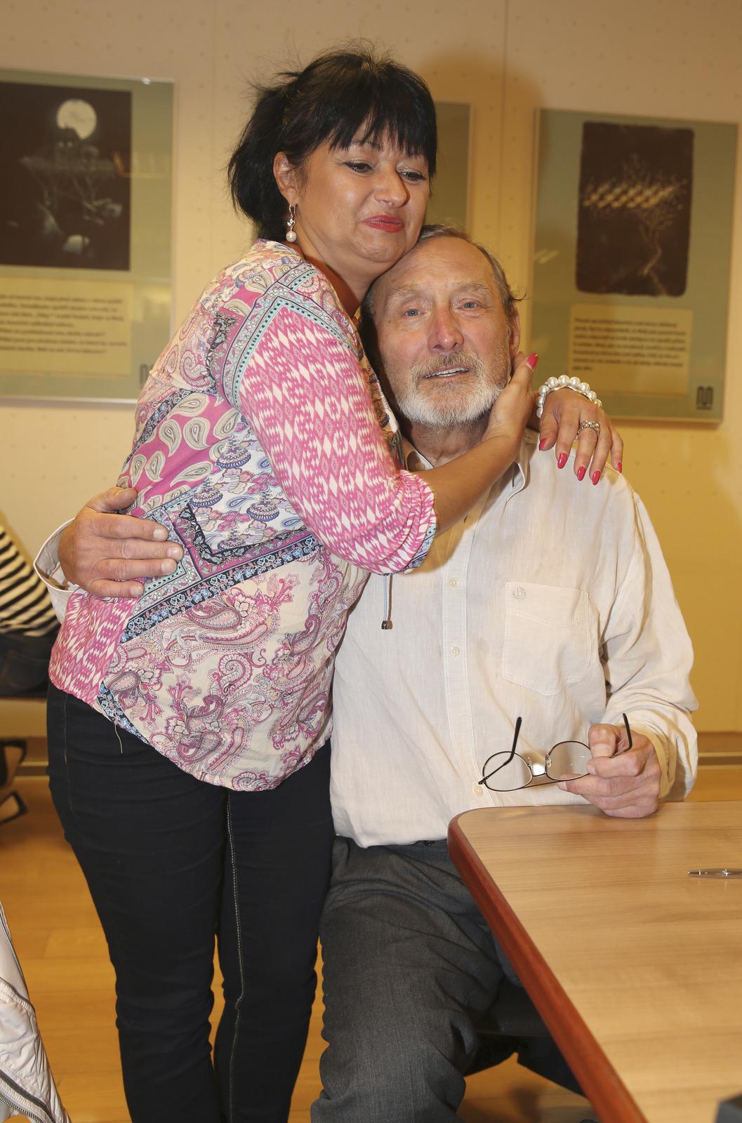 Ladislav Frej s přítelkyní