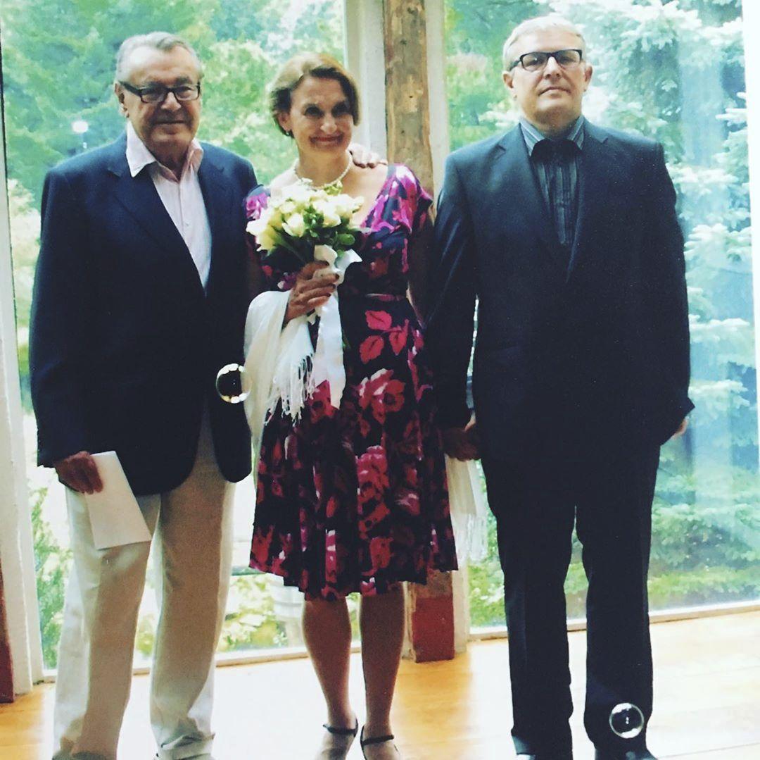 Eva Holubová se před deseti lety tajně provdala v USA pod taktovkou Miloše Formana