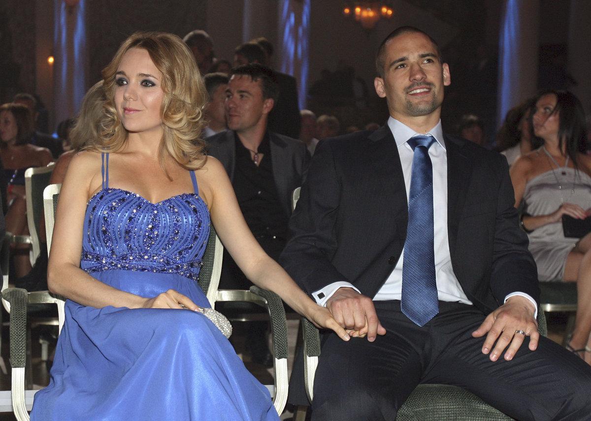 Lucie Vondráčková s ex manželem  Tomášem Plekancem