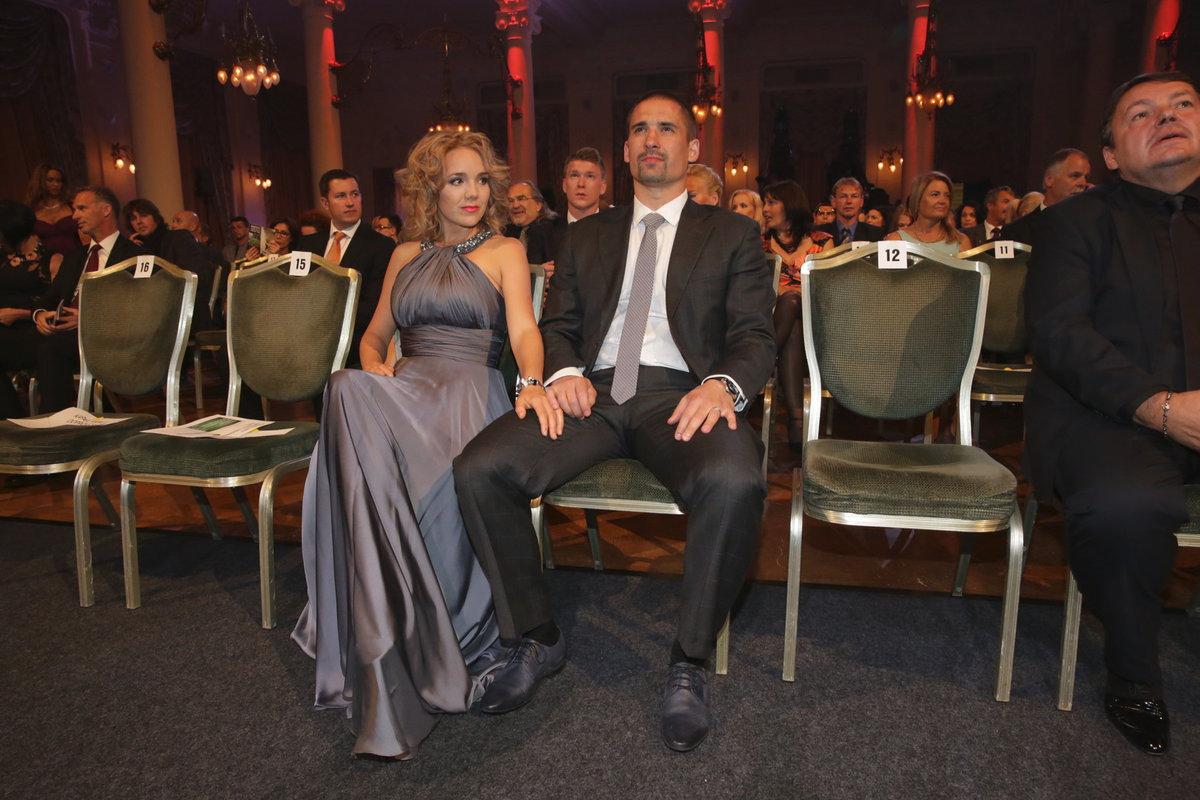 Lucie Vondráčková s bývalým manželem Tomášem Plekancem