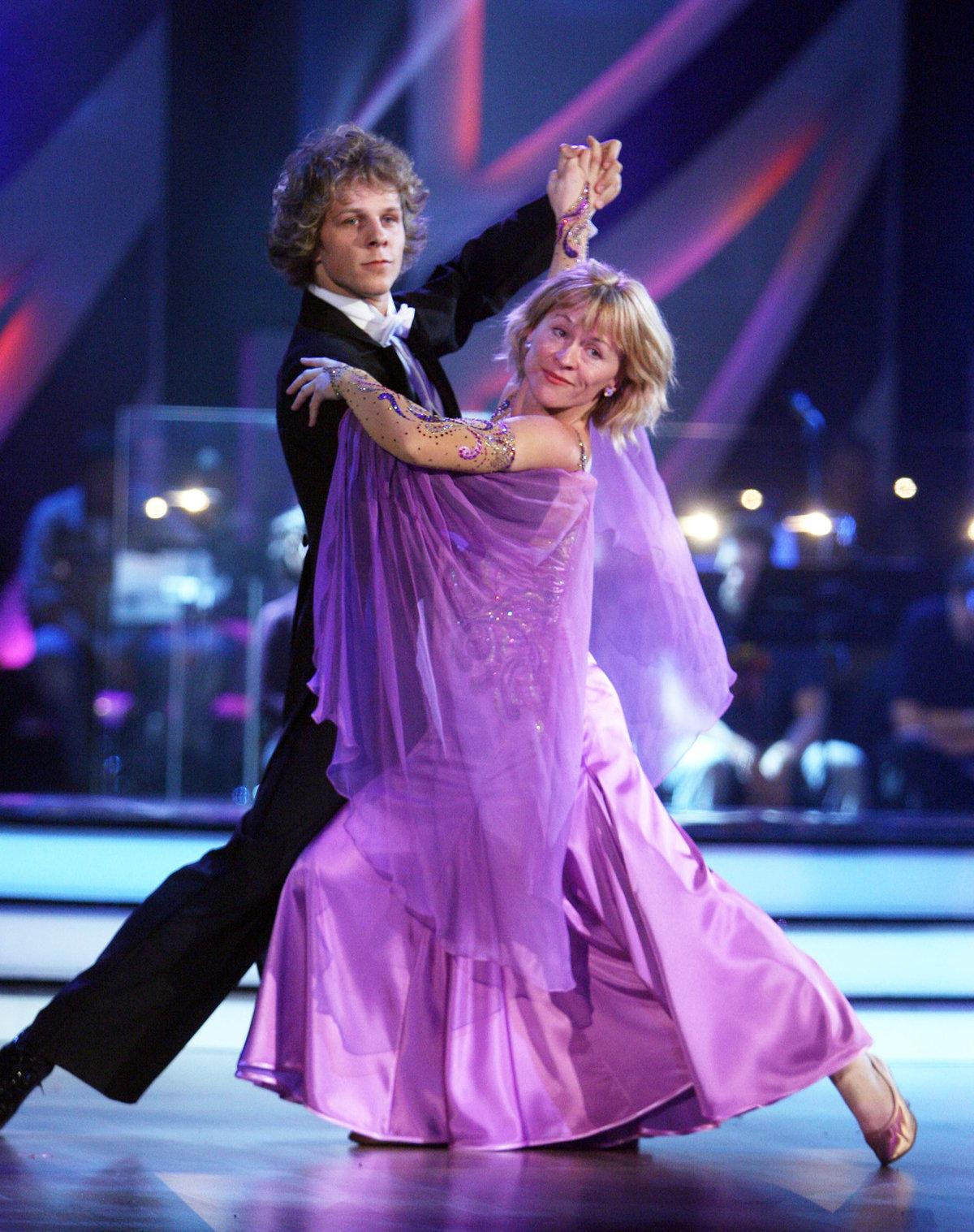 Dana Batulková a Jan Onder před 11 lety ve StarDance
