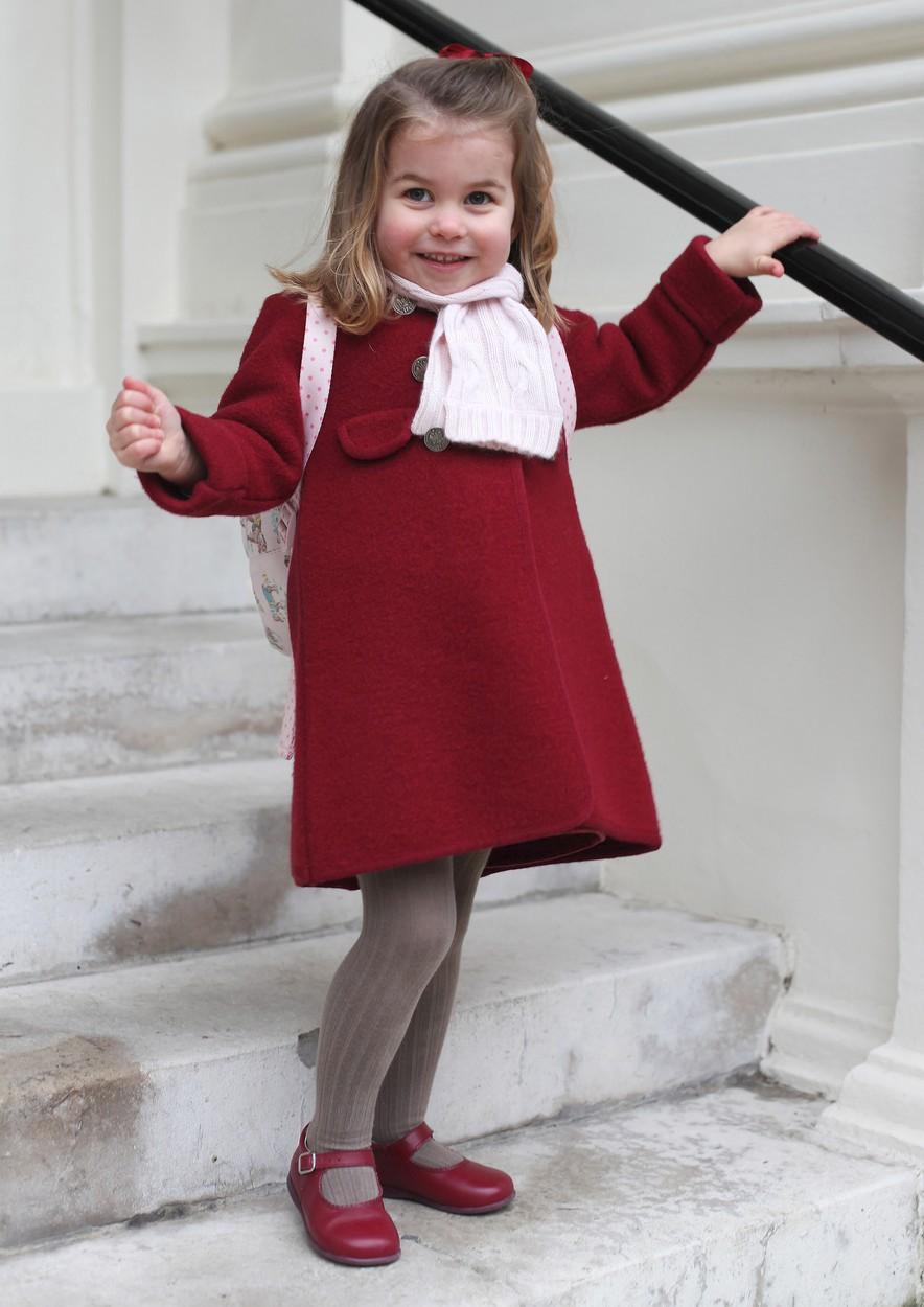 Malá princezna Charlotte prý favoritkou není.