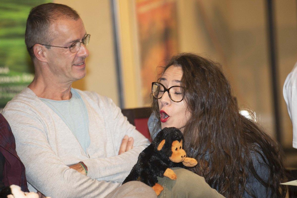 Eva Burešová vypadala na tiskové konferenci k muzikálu Tarzan nadšeně