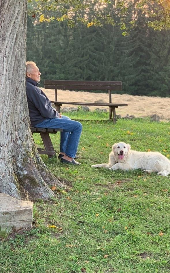 Karel Gott při natáčení videoklipu