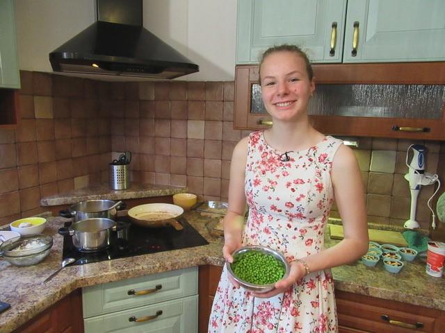 Mladičká studentka Markéta je v kuchyni překvapivě zručná