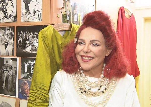Ve své divadelní šatně během rozhovoru pro Události v kultuře.