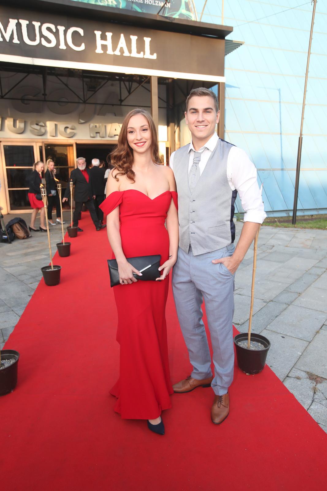 David Gránský s manželkou: Bez saka ne!
