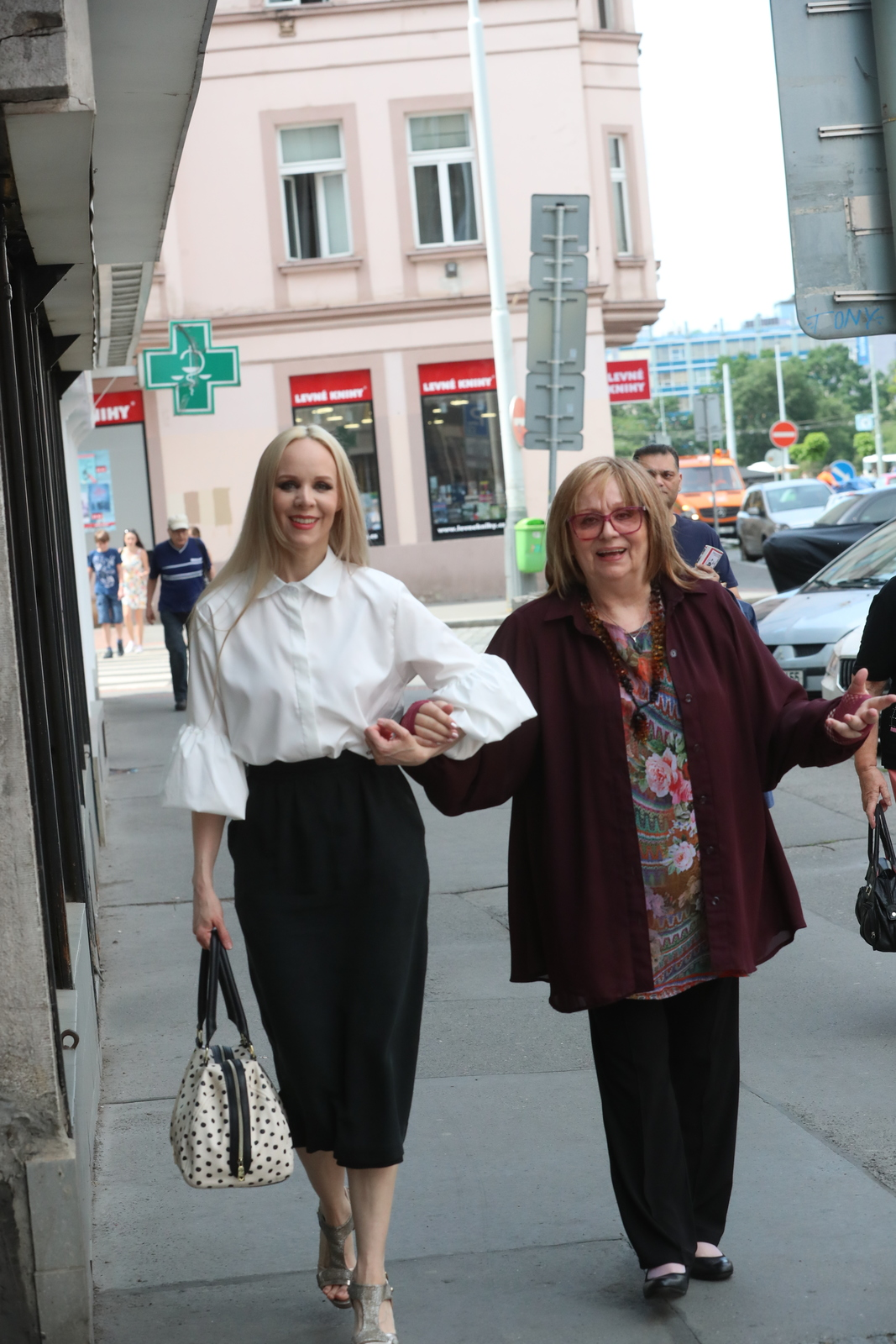 Naďa Urbánková a Jana Fabiánová
