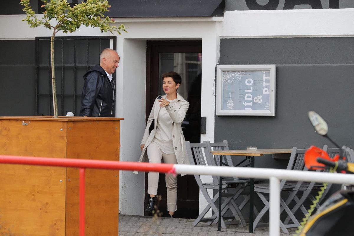 Markéta Fialová a Karel Voříšek se scházejí i v soukromí.