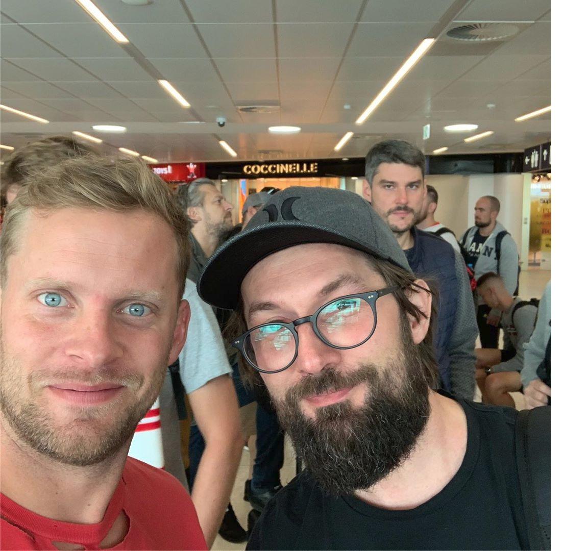 Jakub Prachař s manželem Marty Jandové Miroslavem Vernerem