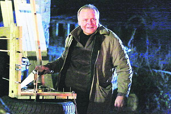 Igor Bareš jako sériový vrah Roman Justl v Temném Kraji.