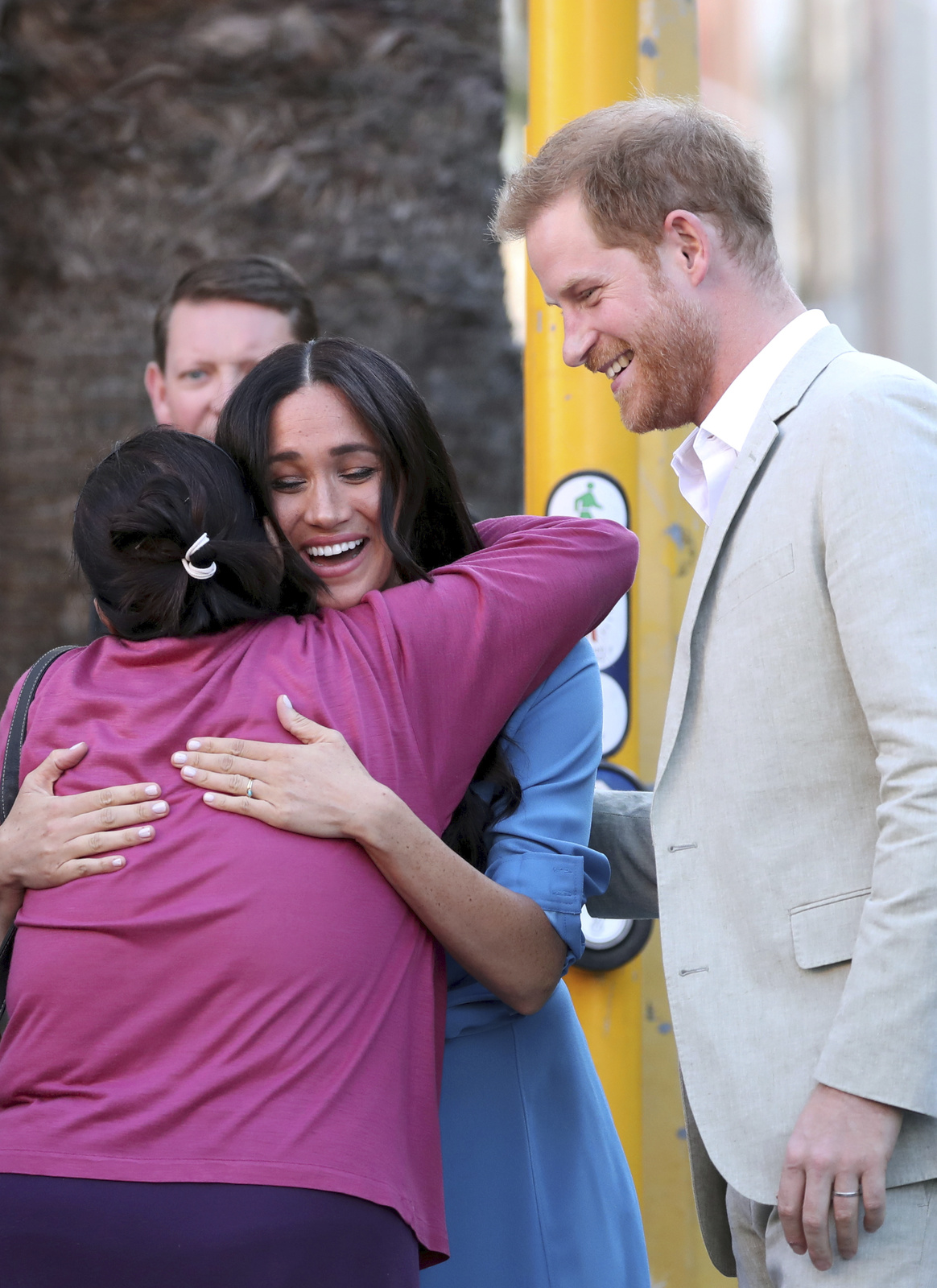 Meghan a princ Harry v JAR