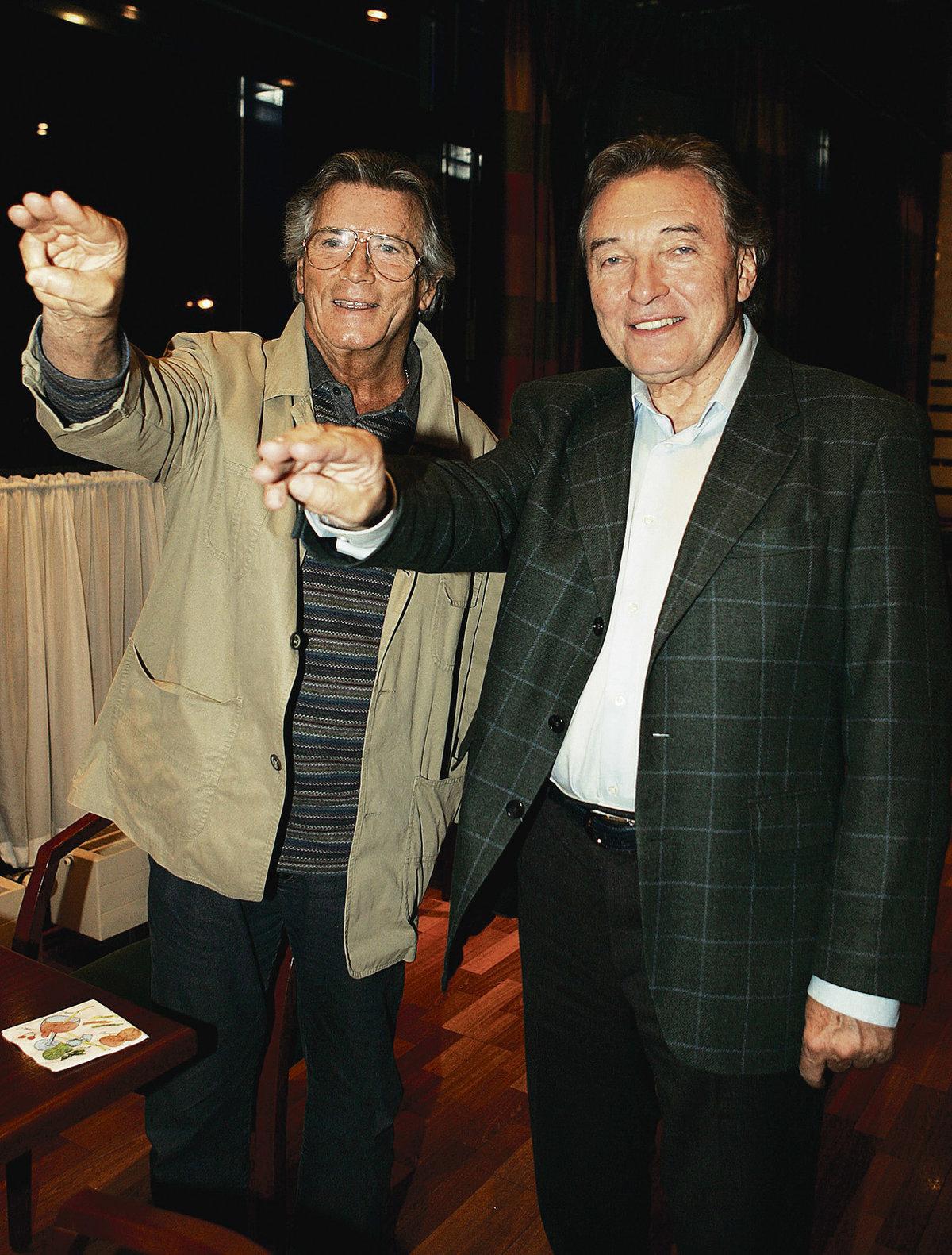 2007 - Karel Gott a Pierre Brice spolu absolvovali turné v německy mluvících zemích