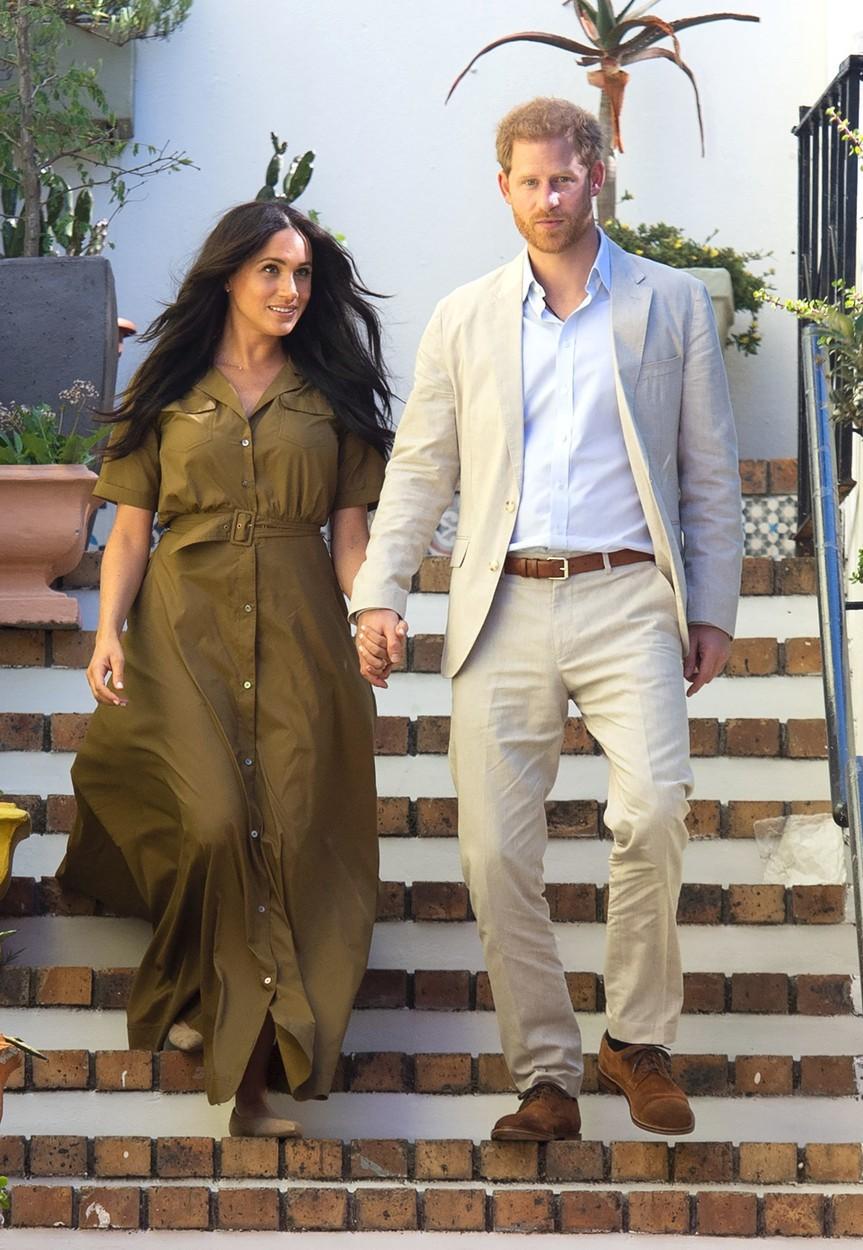 Meghan s manželem Harrym.