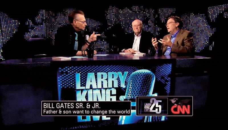 Bill Gates – jedno z posledních velkých jmen, které měl King ve studiu