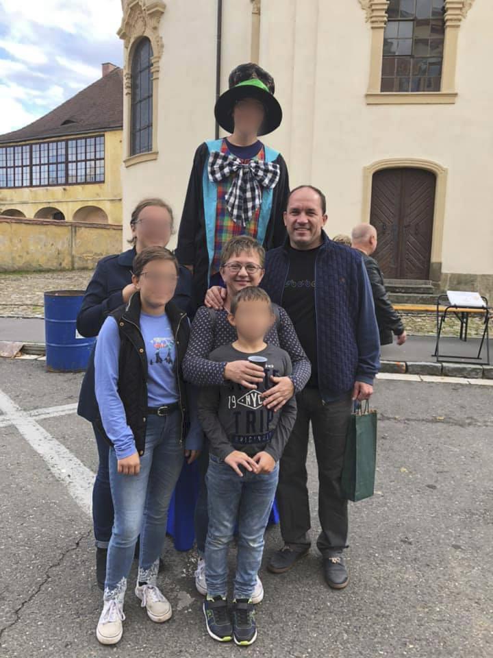 Rodina šéfa lidovců Marka Výborného.