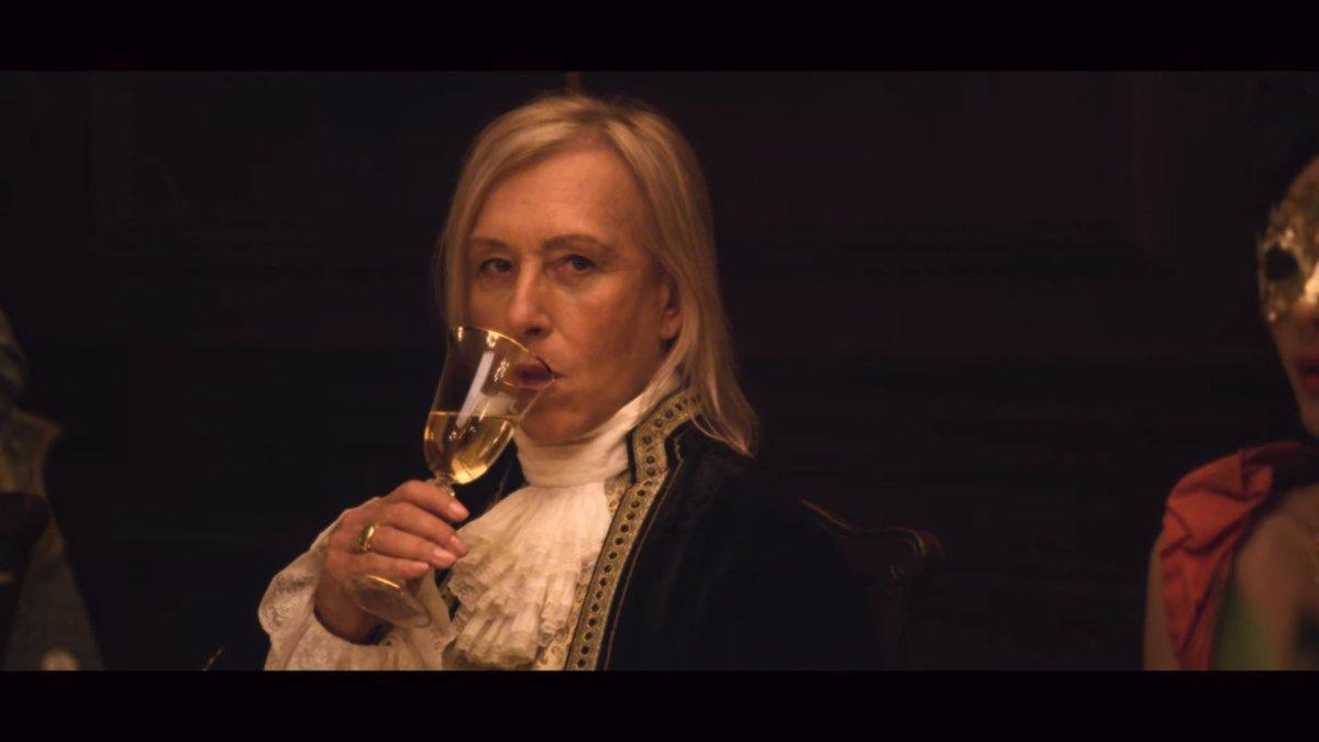 Martina Navrátilová v seriálu Politik ukázala svůj herecký talent!