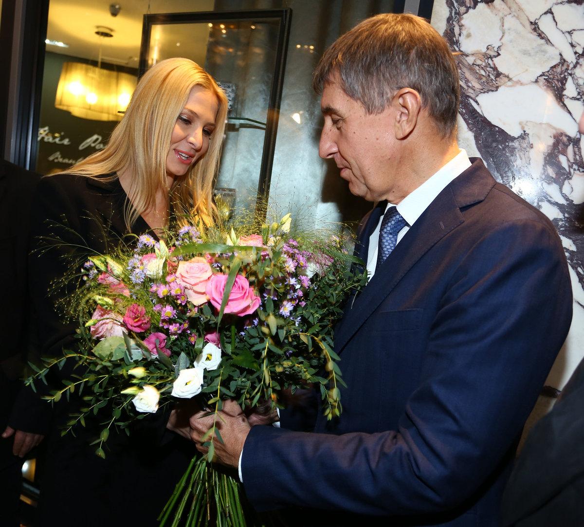 Andrej Babiš a Ivana Gottová v roce 2013