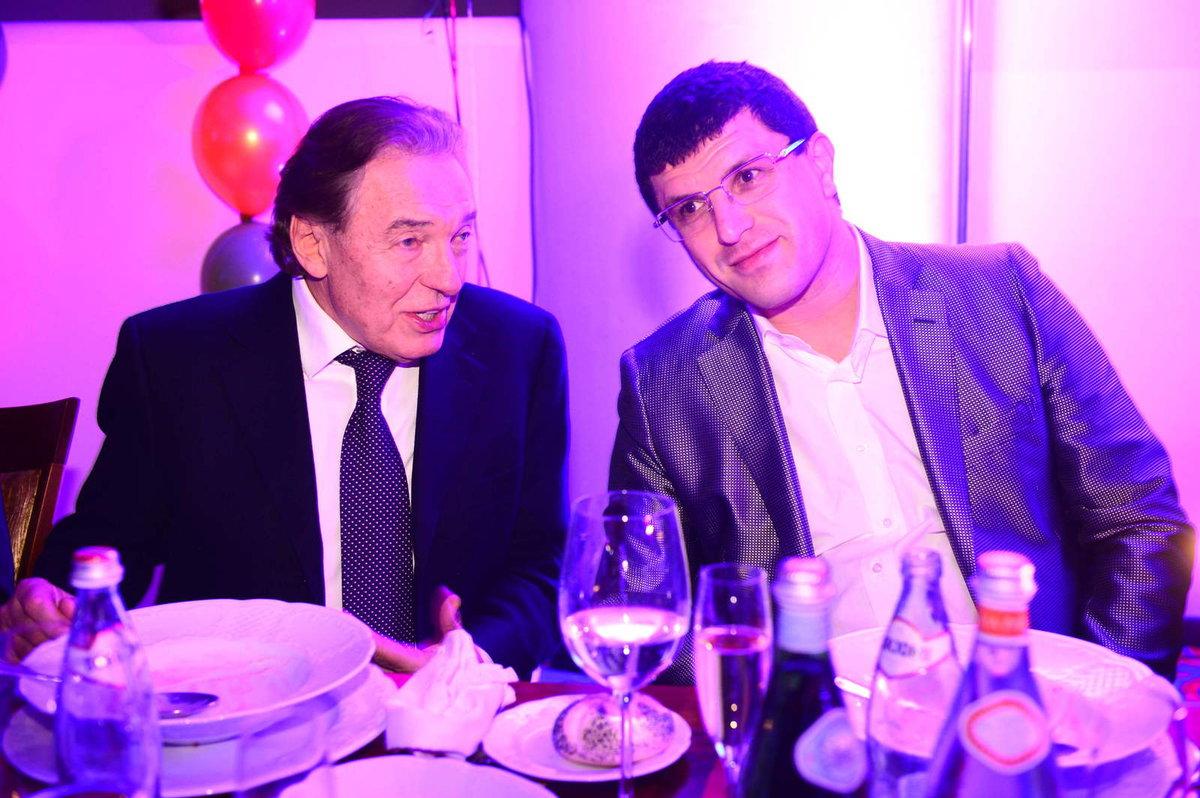 Karel Gott a miliardář Leon Tsoukernik