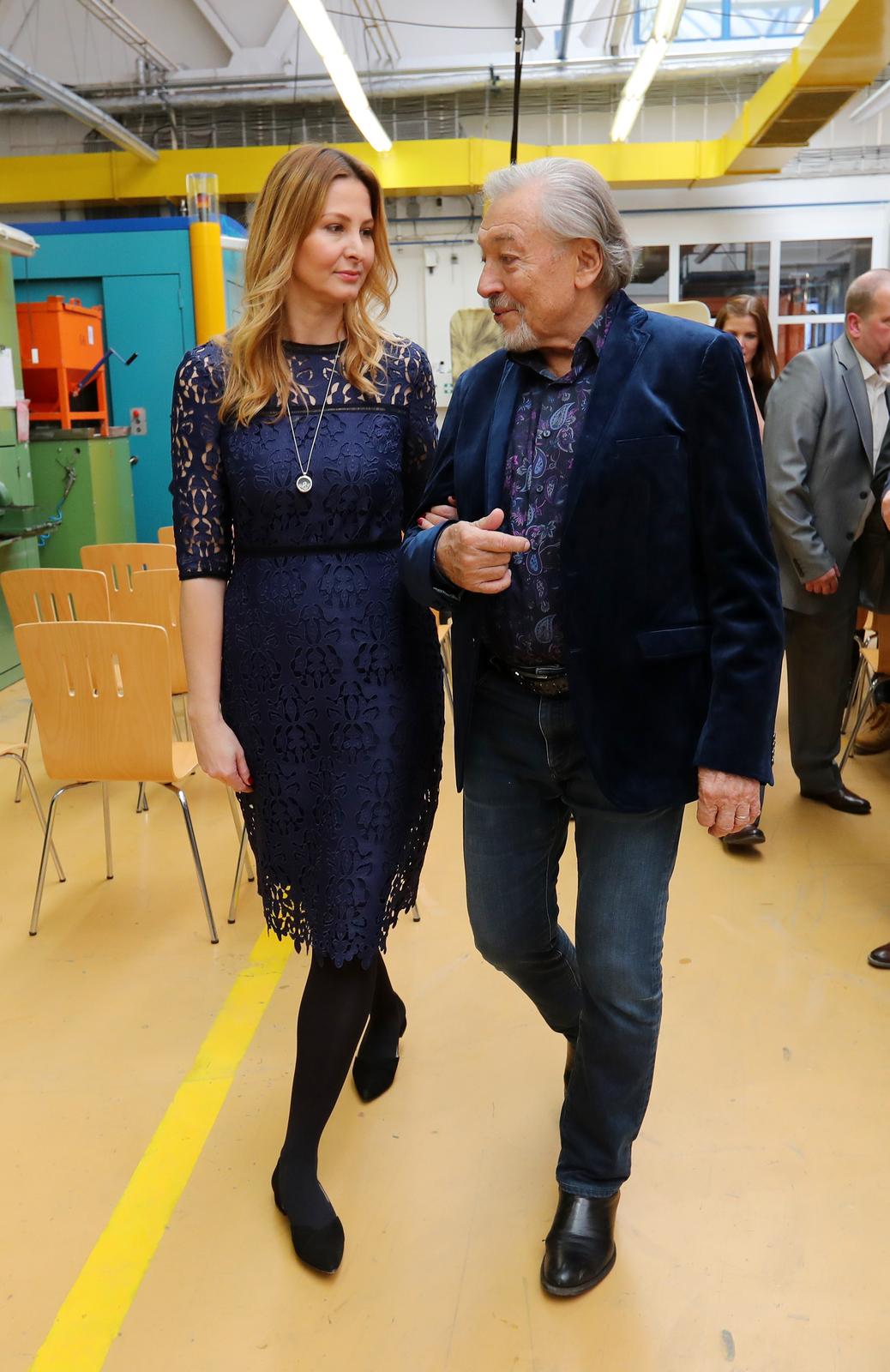 Ivana a Karel Gottovi