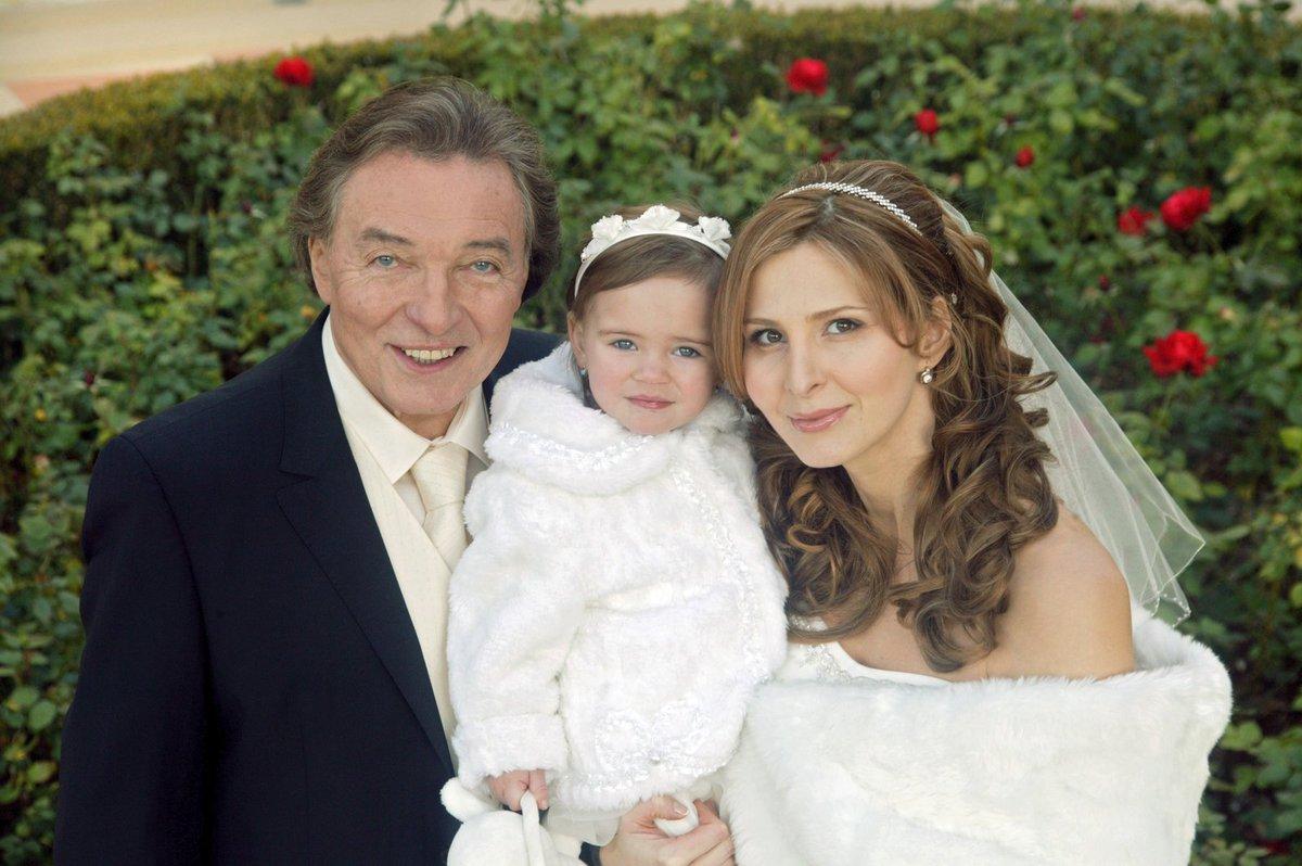 Karel Gott se ženou a dcerou