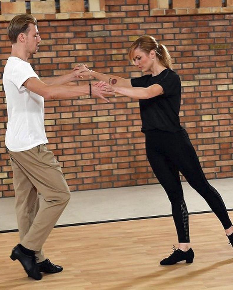 Gabriela Koukalová s Martinem Pragerem.