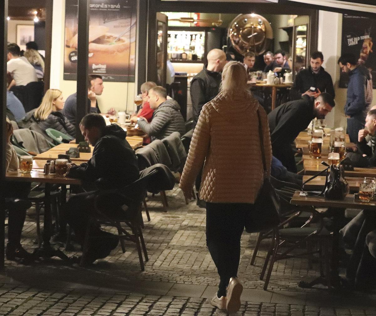Dominika Gottová vyrazila po příletu a ubytování do centra Prahy