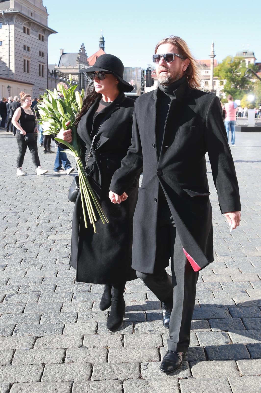 Jitka Čvančarová s manželem