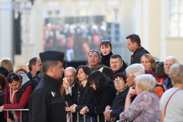 Zádušní mše za Karla Gotta v katedrále sv. Víta