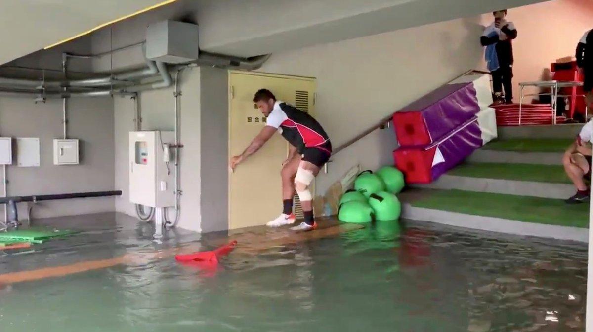 Tajfun Hagibis udeřil na Japonsko.