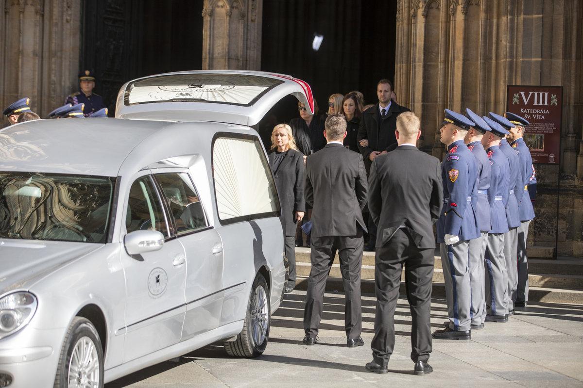 Poslední rozloučení s Karlem Gottem