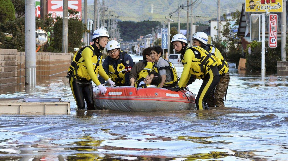 Tajfun Hagibis zpustošil Japonsko, přibývá obětí i zraněných. (13.10.2019)