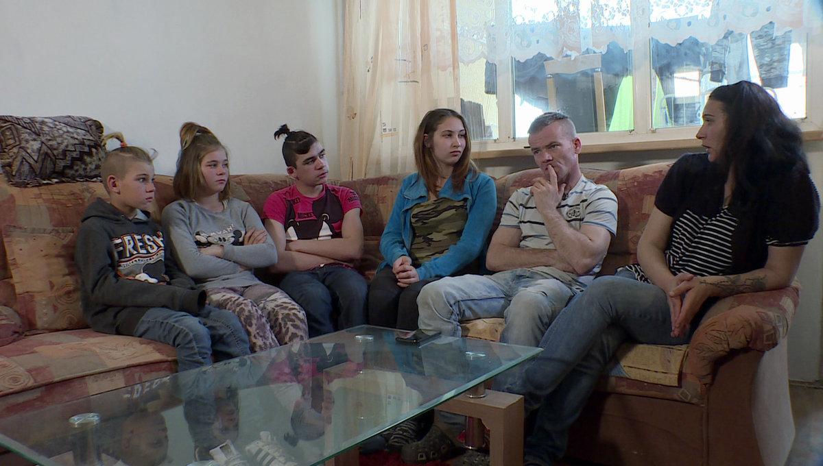 Výměna manželek: Zdena, Petr, Nikola, Patrik, Petra  a Dan