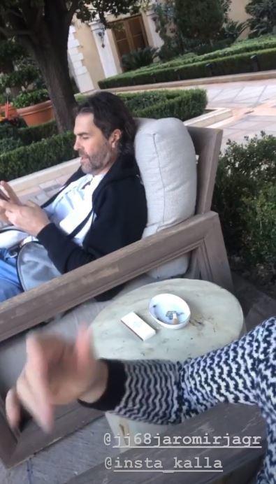 Jaromír Jágr relaxuje na výletě v Las Vegas