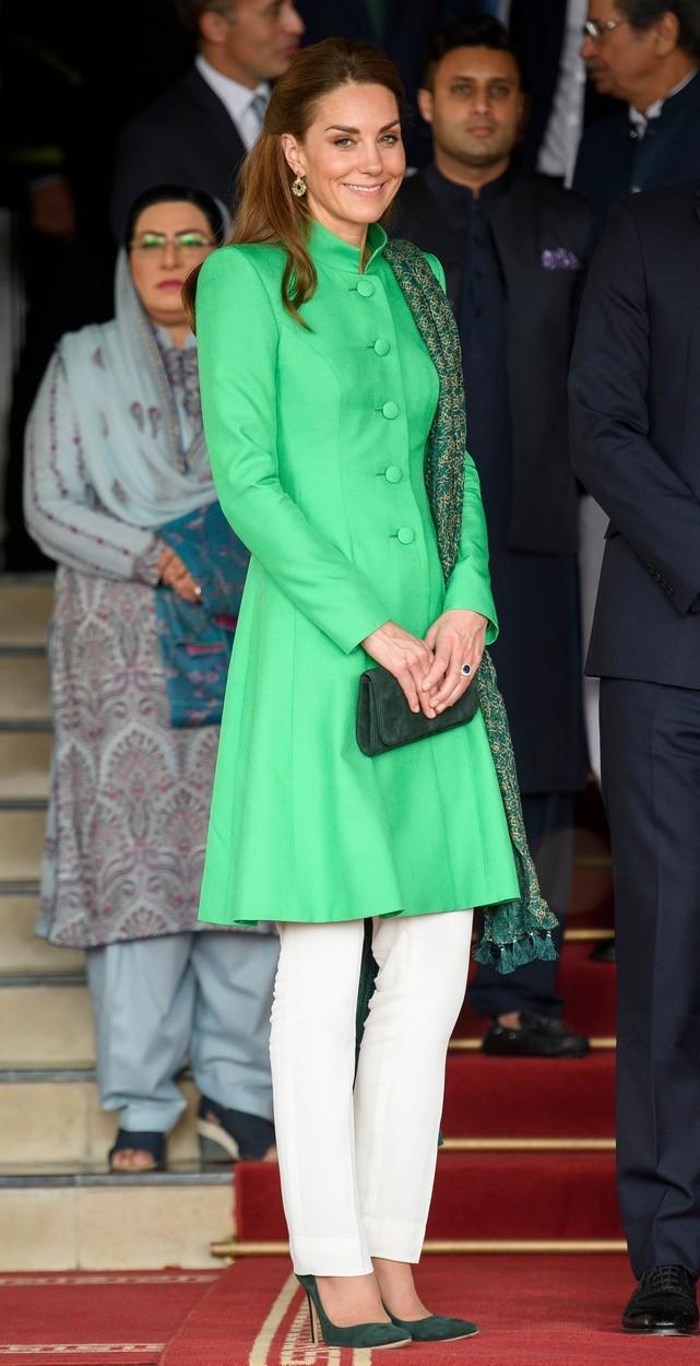 Vévodkyně Kate na královské cestě v Pákistánu