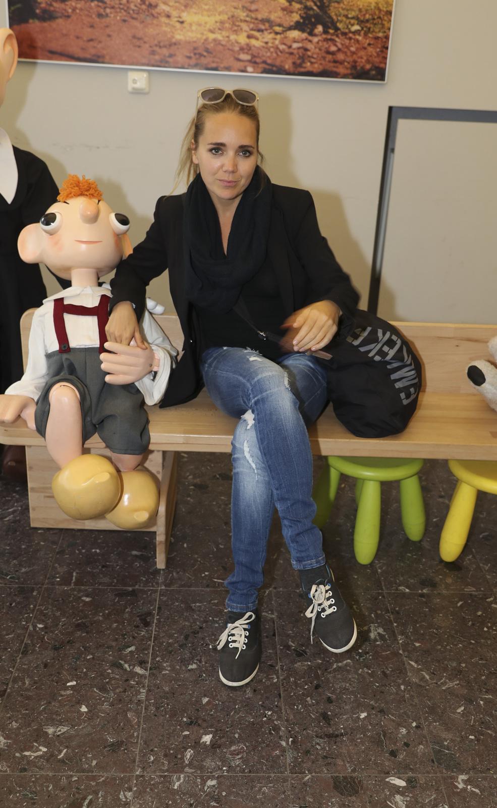 Lucie v divadle Spejbla a Hurvínka