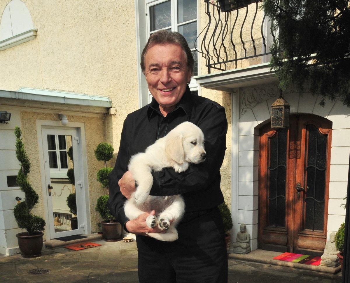 2010 Karel si přivezl domů štěnátko Stellu.