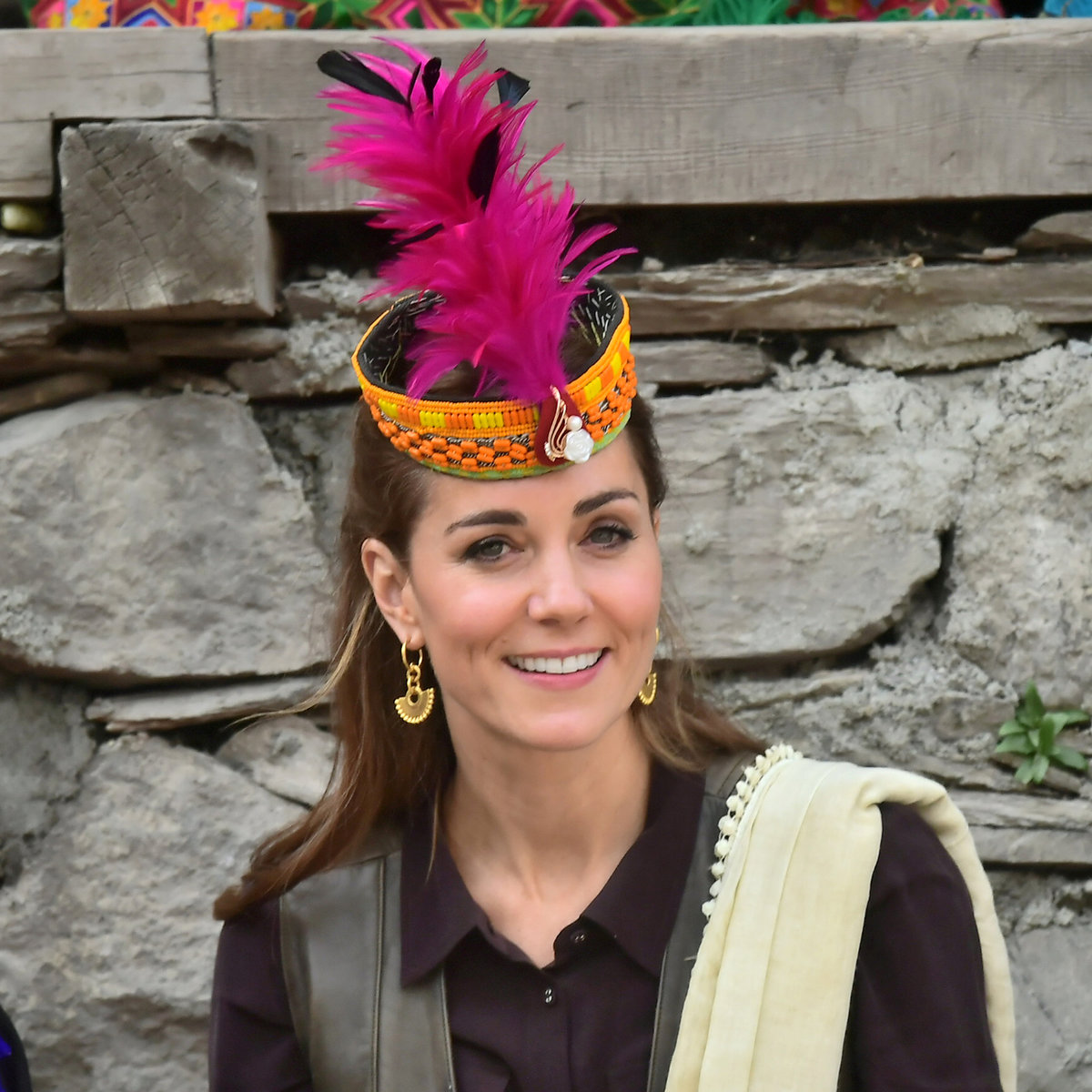 Kate s Williamem na služební cestě v Pákistánu