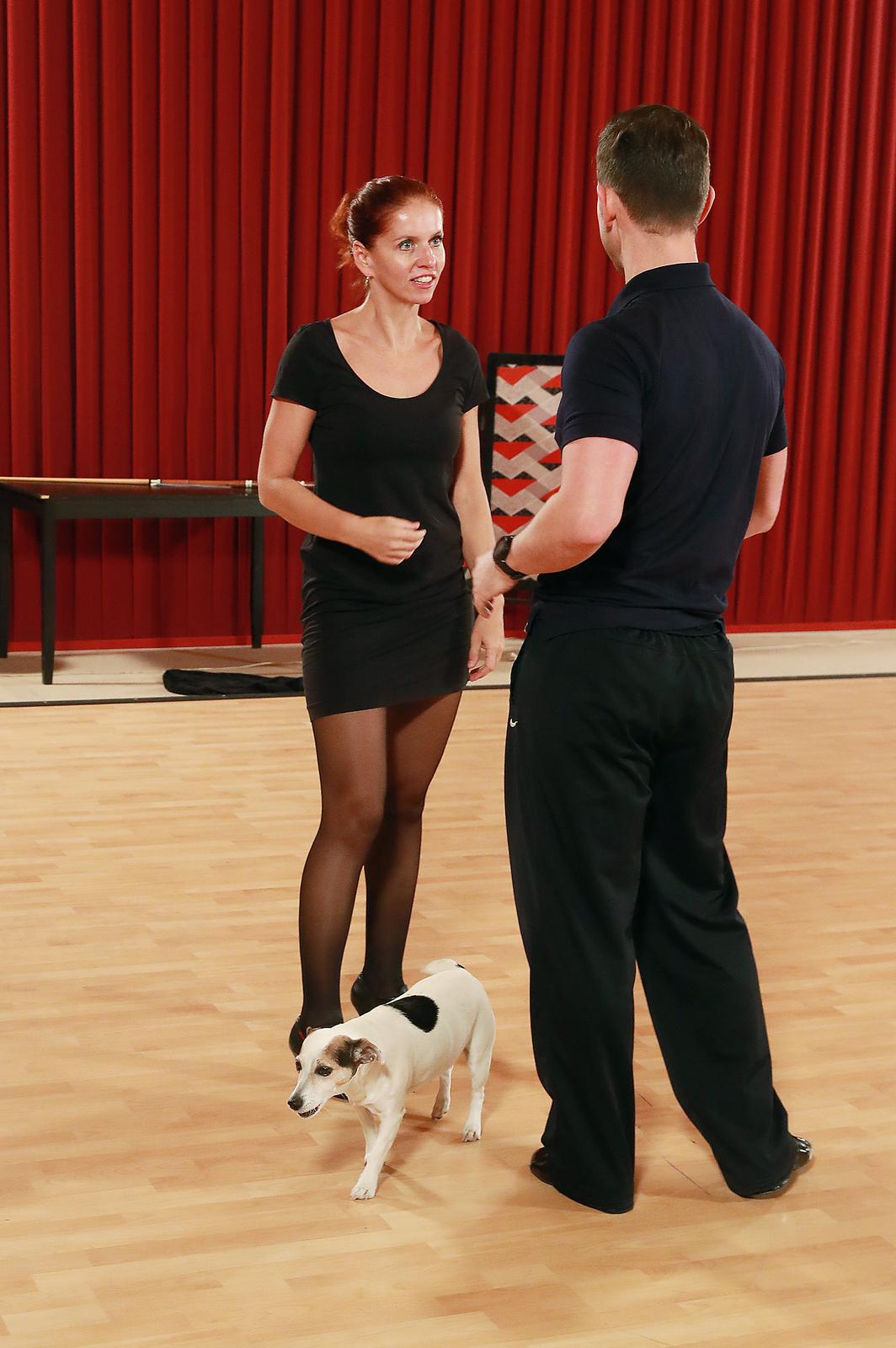 Nora Fridrichová a její tréninky na StarDance
