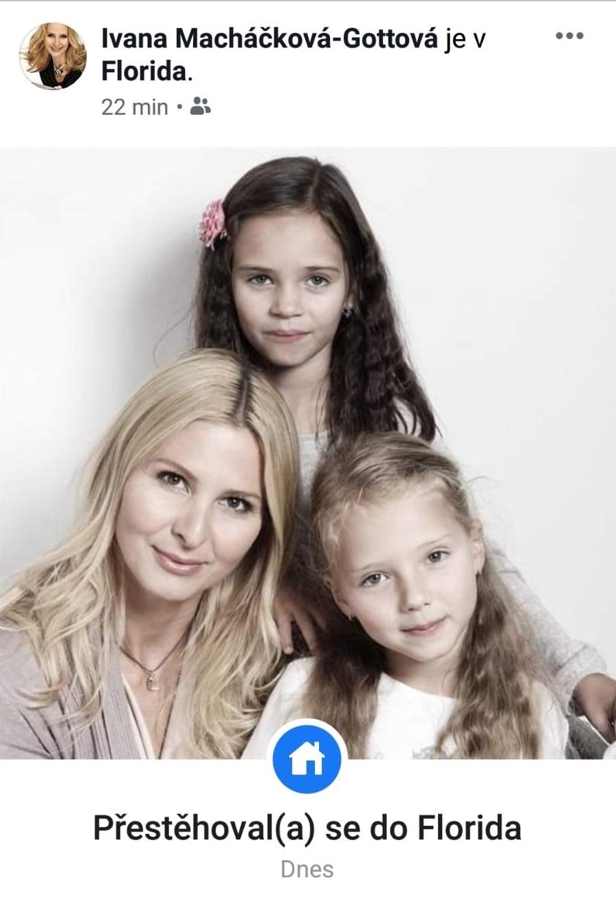 Ivana Gottová s dcerami