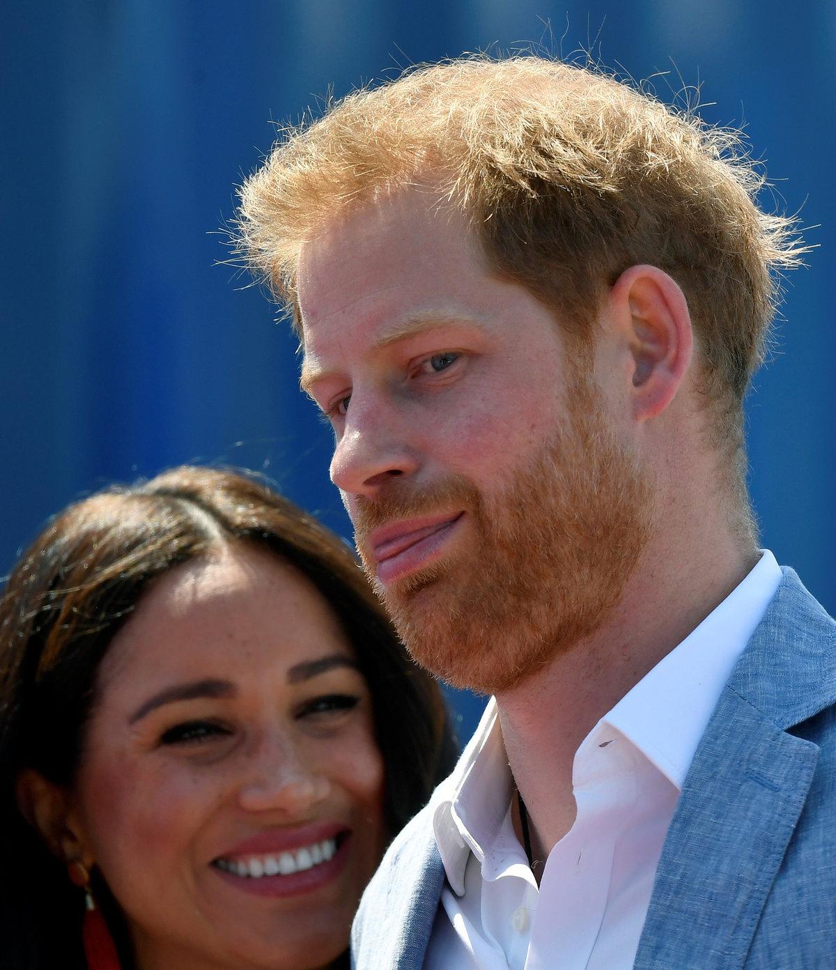 Princ Harry s Meghan Markleová v Africe