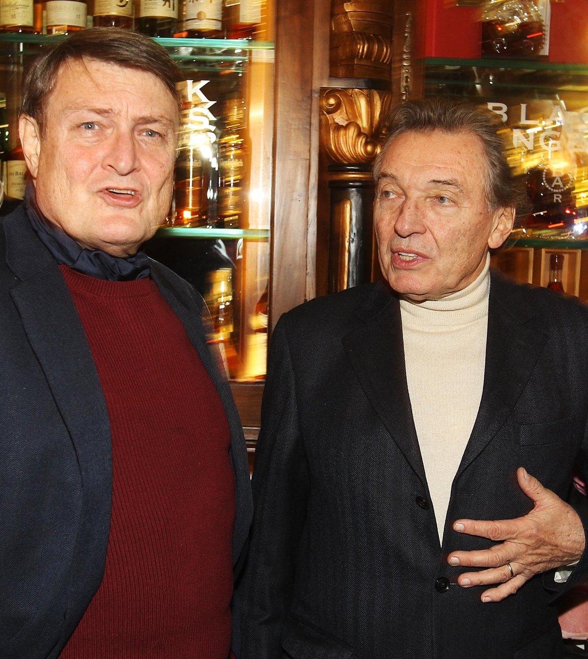 Ladislav Štaidl a Karel Gott