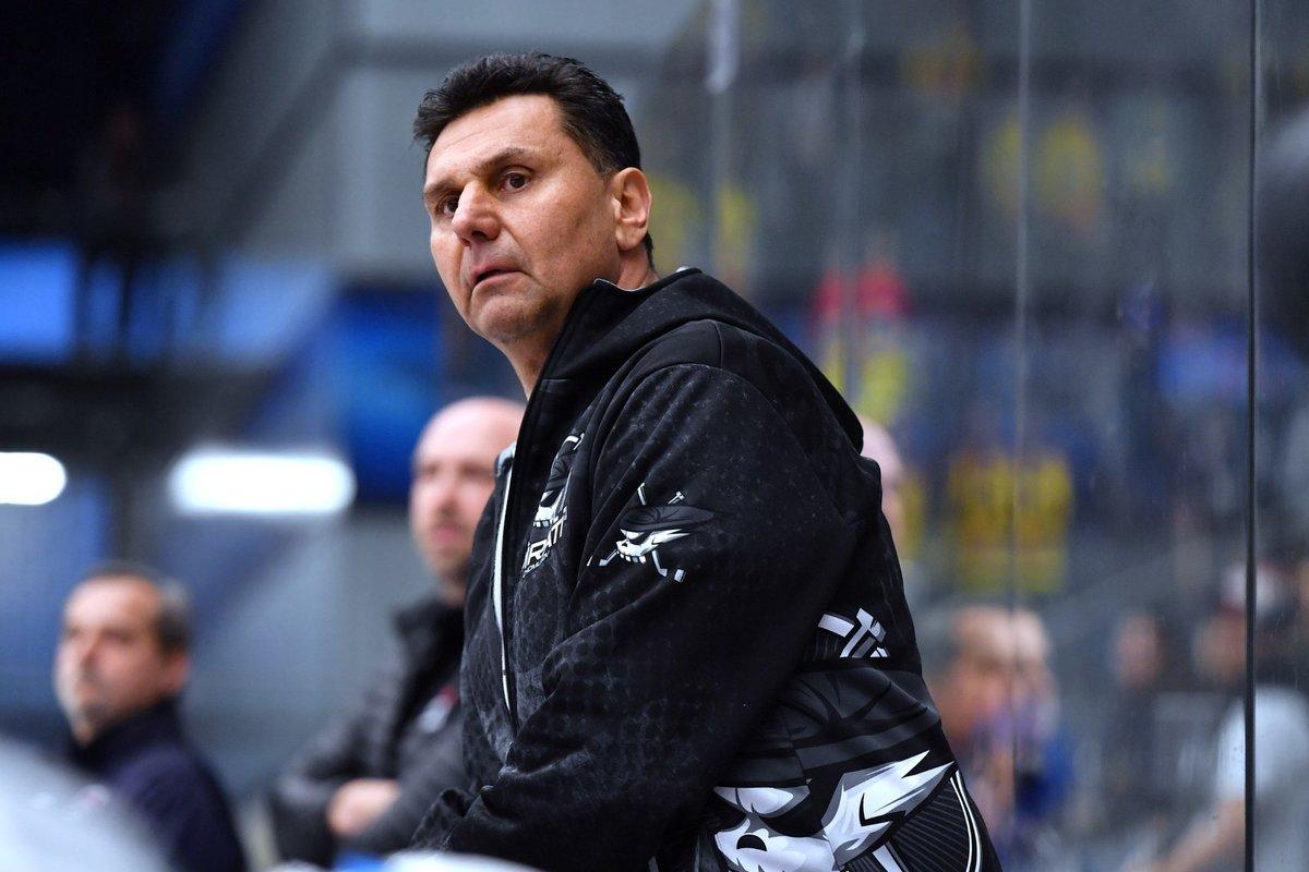 Hokejový kouč Vladimír Růžička
