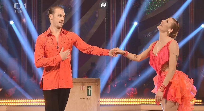 Gabriela Koukalová tančila ve StarDance hříšnou sambu